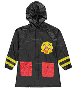 "Lilly New York Big Boys' ""Fire Captain"" Rain Jacket (Sizes 8 – 20) - CookiesKids.com"