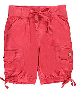 "Chillipop Big Girls' ""Elastic Leg"" Bermuda Shorts (Sizes 7 – 16) - CookiesKids.com"