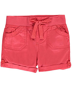 "Chillipop Little Girls' Toddler ""Stretch Tab"" Short Shorts (Sizes 2T – 4T) - CookiesKids.com"