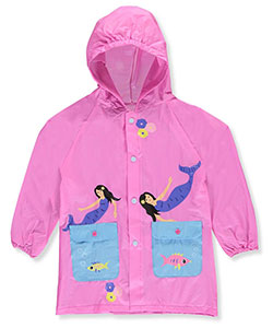 "Lilly New York Little Girls' ""Enchanted Mermaid"" Rain Jacket (Sizes 4 – 6X) - CookiesKids.com"