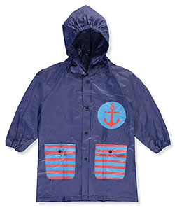 "Lilly New York Little Boys' Toddler ""Anchored Circle"" Rain Jacket (Sizes 2T – 4T) - CookiesKids.com"
