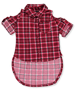 "Chillipop Little Girls' Toddler ""Shelley"" Button-Down Shirt (Sizes 2T – 4T) - CookiesKids.com"