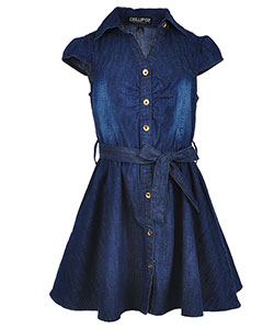 Chillipop Hearts Little Girls' Skater Dress (Sizes 4 – 6X) - CookiesKids.com