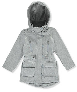 Chillipop Little Girls' Fleece Coat (Sizes 4 – 6X) - CookiesKids.com