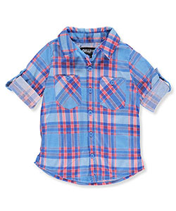 Chillipop Little Girls' Button-Down Top (Sizes 4 – 6X) - CookiesKids.com