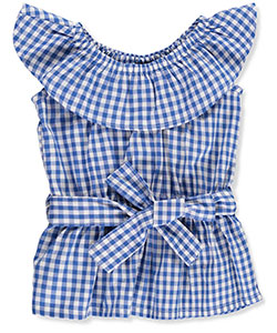 Chillipop Big Girls' Peasant Top (Sizes 7 – 16) - CookiesKids.com