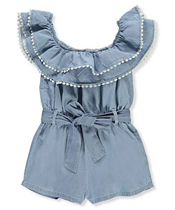 Chillipop Girls' Belted Romper - CookiesKids.com