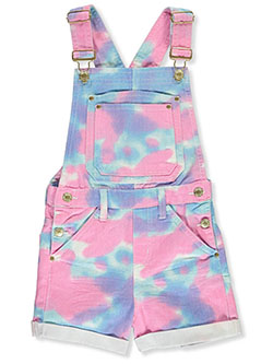 WHO Chillipop Girls Tie Dye Shortalls