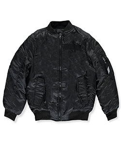 "Southpole Big Boys' ""Blacktop"" Flight Jacket (Sizes 8 – 20) - CookiesKids.com"