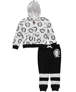 "Marilyn Monroe Little Girls' ""Sheer Beauty"" 2-Piece French Terry Sweatsuit (Sizes 4 – 6X) - CookiesKids.com"