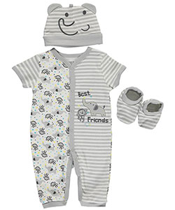 "Buster Brown Baby Boys' ""Best Friends"" 3-Piece Layette Set - CookiesKids.com"