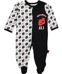"Ali Baby Boys' ""Notorious Gloves"" Footed Coveralls - CookiesKids.com"