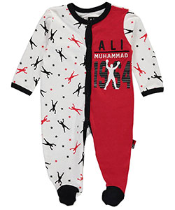 "Ali Baby Boys' ""Superstar Phenom"" Footed Coveralls - CookiesKids.com"