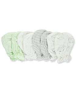 Mary Jane & Buster Baby Boys' 4-Pack Scratch Mittens - CookiesKids.com