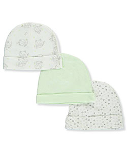 Mary Jane & Buster Baby Boys' 3-Pack Caps - CookiesKids.com