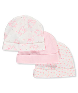 Mary Jane & Buster Baby Girls' 3-Pack Caps - CookiesKids.com