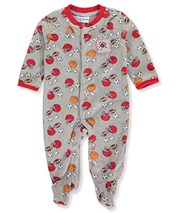 Buster Brown Baby Boys' Microfleece Coverall - CookiesKids.com