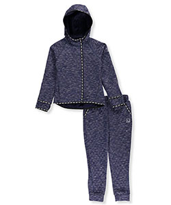 Material Girl Big Girls' 2-Piece Sweatsuit (Sizes 7 – 16) - CookiesKids.com