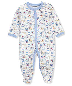 Buster Brown Baby Boys' Quilted Jersey Footed Coverall - CookiesKids.com
