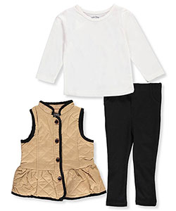 Buster Brown Baby Girls' 3-Piece Outfit - CookiesKids.com