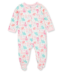 Weeplay Baby Girls' Footed Coverall - CookiesKids.com