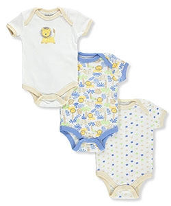 Weeplay Baby Boys' 3-Pack Bodysuits - CookiesKids.com