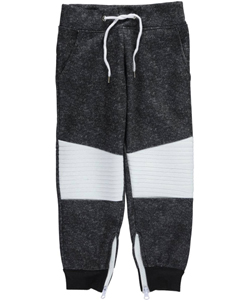 "Encrypted Little Boys' ""Zip Cuff"" Joggers (Sizes 4 – 7) - CookiesKids.com"