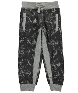 "Encrypted Little Boys ""Quilted Stripe"" Joggers (Sizes 4 – 7) - CookiesKids.com"