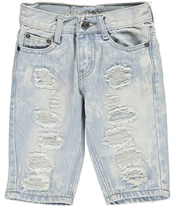 "Kroix Little Boys' ""Encircled Tears"" Denim Shorts (Sizes 4 – 7) - CookiesKids.com"