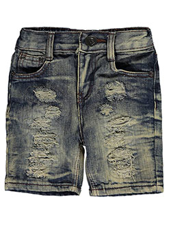 "Encrypted Baby Boys' ""Tear Circles"" Denim Shorts - CookiesKids.com"