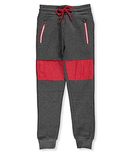 "Encrypted Big Boys' ""Padded Fleece"" Joggers (Sizes 8 – 20) - CookiesKids.com"
