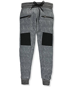 "Encrypted Big Boys' ""Straight Ahead"" Joggers (Sizes 8 – 20) - CookiesKids.com"