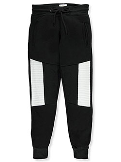 "Encrypted Big Boys' ""Cross Stitch"" Joggers (Sizes 8 – 20) - CookiesKids.com"