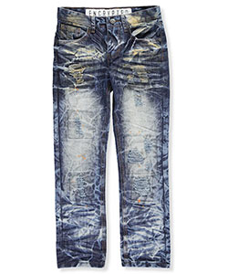 "Encrypted Big Boys' ""Ripper"" Jeans (Sizes 8 – 20) - CookiesKids.com"