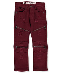 Encrypted Little Boys' Slim Fit Jeans (Sizes 4 – 7) - CookiesKids.com