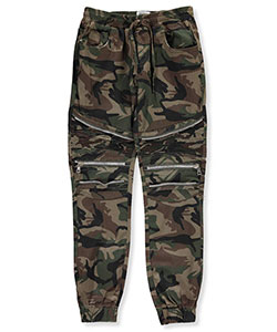 Encrypted Big Boys' Brushed Twill Joggers (Sizes 8 – 20) - CookiesKids.com