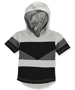 Encrypted Baby Boys' Hooded T-Shirt - CookiesKids.com
