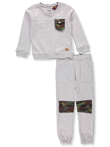 7 For All Mankind Boys' 2-Piece Pants Set Outfit - CookiesKids.com