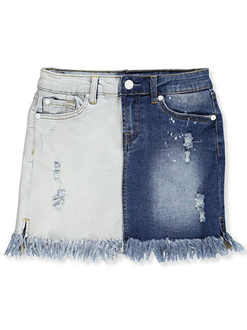 7 For All Mankind Girls' Denim Skirt - CookiesKids.com