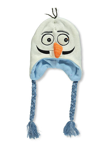 "Disney Frozen ""Olaf Face"" Hat (Toddler One Size) - CookiesKids.com"