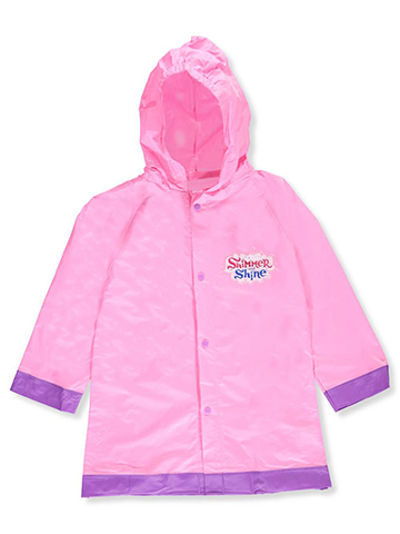 Shimmer and Shine Little Girls' Toddler Rain Jacket (Sizes 2T – 4T) - CookiesKids.com