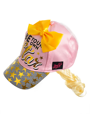 Jojo Siwa Girls' Baseball Cap with Ponytail - CookiesKids.com