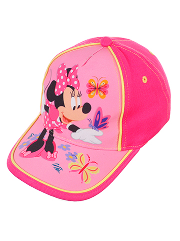 Disney Minnie Mouse Girls' Baseball Cap - CookiesKids.com