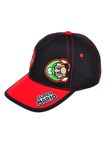 Super Mario Boys' Baseball Cap - CookiesKids.com