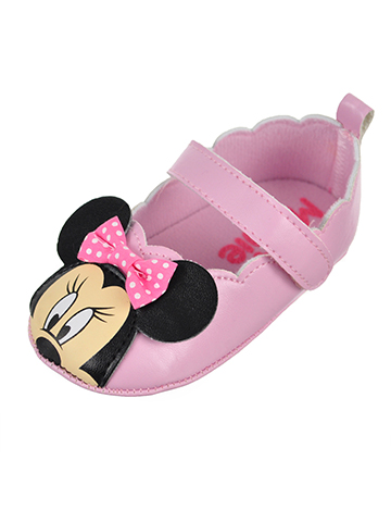 Disney Minnie Mouse Baby Girls' Mary Jane Booties - CookiesKids.com