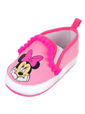 Disney Minnie Mouse Baby Girls' Slip-On Booties - CookiesKids.com