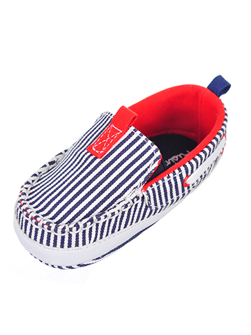Rising Star Baby Boys' Boat Shoe Booties - CookiesKids.com