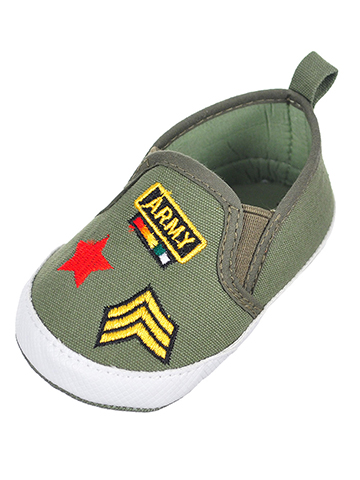 Rising Star Baby Boys' Slip-On Booties - CookiesKids.com