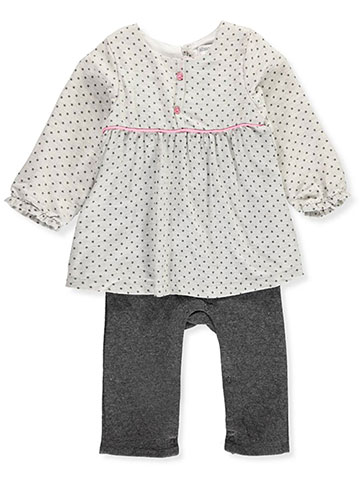 Absorba Baby Girls' Coverall - CookiesKids.com