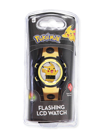 Pokemon Flashing LCD Watch - CookiesKids.com